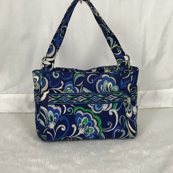 Vera Bradley Bags | Bluegreen Quilted Fabric